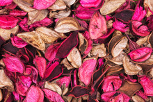 Background Of Beautiful And Colorful Rose Scent Potpourri