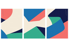 Abstract Pattern With Geometri...