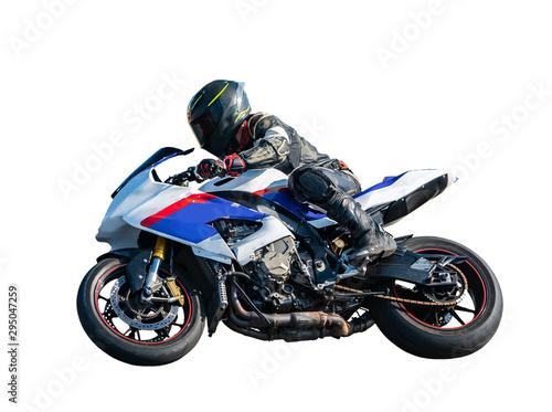 sport rider motorcyclist Canvas-taulu