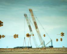 Chemical Plant Near The Sea