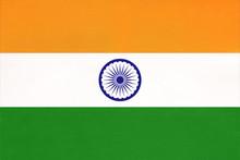 India National Fabric Flag, Te...