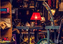 Various Antique Clocks Vases A...
