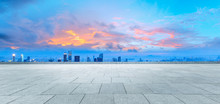 Sunset Square Platform And Cit...