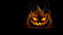 Zucca Halloween, Fuoco, In Fia...