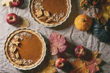 Traditional Homemade Autumn Pu...