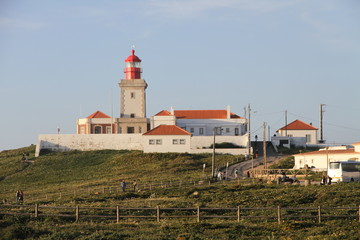 Fototapeta na wymiar Lighthouse at Cabo da Roca