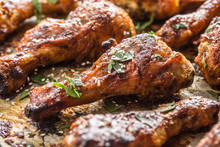 Roasted Chicken Legs Barbecue ...