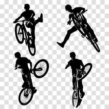 Dirt Jumping Illustration. Tri...
