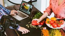 Food Photography. Cookbook Rec...