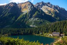 The Autumn Poprad Lake Surroun...
