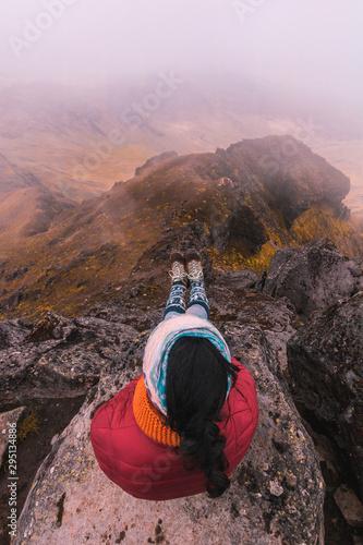 Photo hermoso paisaje de los Andes de Sudamérica
