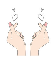 Korean Symbol Of Love With You...