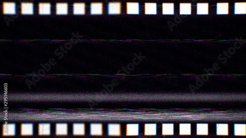Vintage VHS film strip Slika na platnu