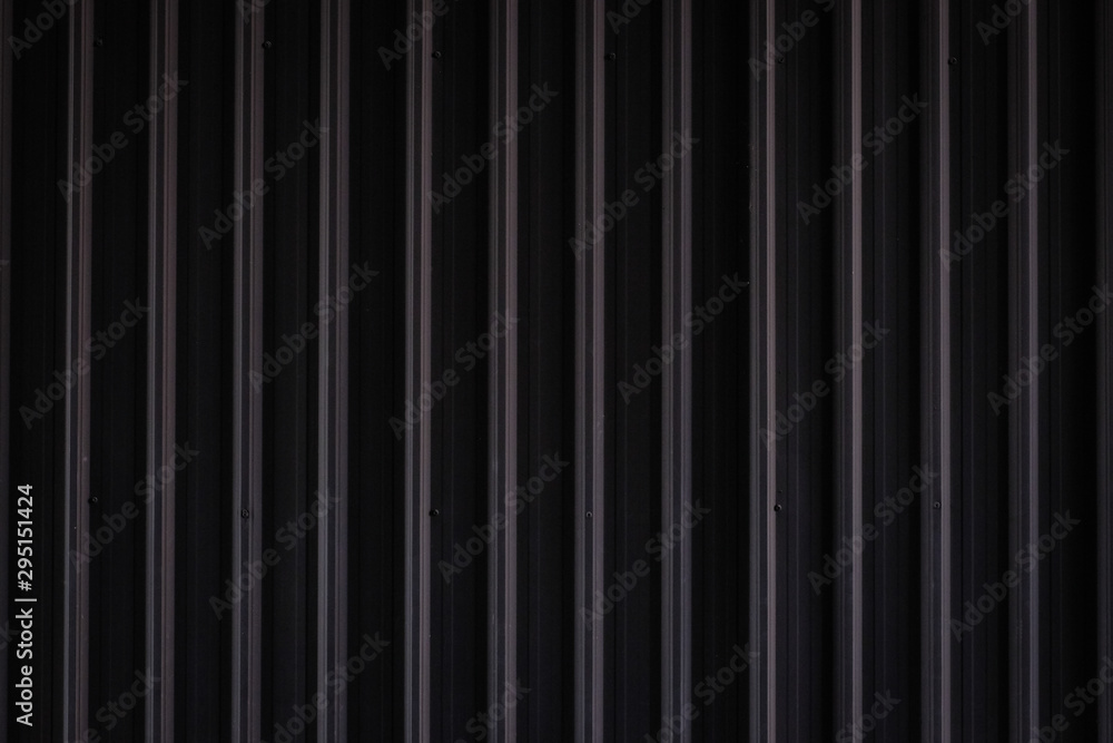 Fototapety, obrazy: metal texture pattern, ribbed cast iron surface, textured black background , wall for dark backdrop , loft style interior.