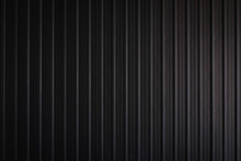 Metal Texture Pattern, Ribbed Cast Iron Surface, Textured Black Background , Wall For Dark Backdrop , Loft Style Interior.High Resolution Horizontal
