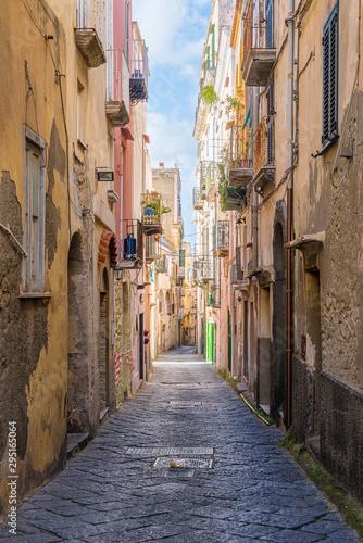 Fototapety, obrazy: Scenic sight in the beautiful island of Procida, near Napoli, Campania region, Italy.