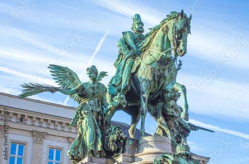 Fotomural Kaiser Wilhelm monument  (Kaiser Wilhelm Denkmal) North Rhine-Westphalia Germany