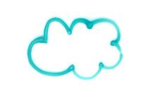 Graffiti Cloud Sign Sprayed On...