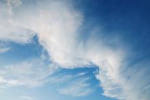 Cloud Wave In Sunset Sky Resem...