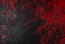 Painted Background Texture Red...