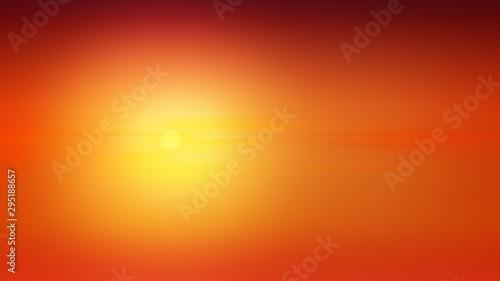 Foto auf Gartenposter Ziegel Sunset background illustration gradient abstract, banner design.