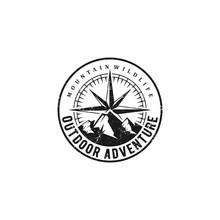 Vintage Outdoor Adventure Logo...