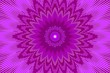canvas print picture - neon purple glowing ray beam. abstract.