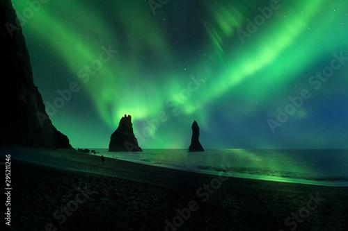 La pose en embrasure Aurore polaire Aurora borealis