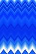 canvas print picture - blue dark chevron zigzag pattern. texture decorative.