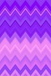 canvas print picture - neon chevron zigzag background ultra. magenta luminous.