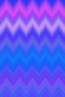 canvas print picture - neon chevron zigzag background ultra. blazing.