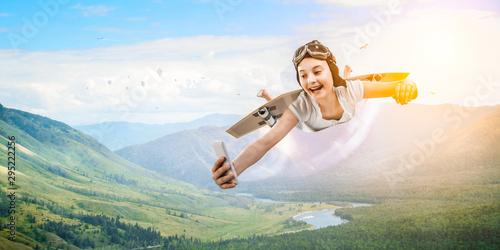 Fotografía  I can fly. Mixed media