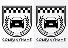 Car Logo Vector, Isolated On B...