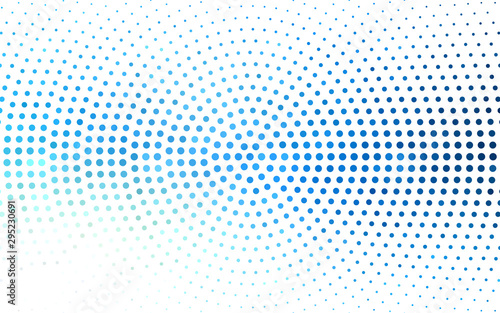 Light BLUE vector background with spots. Blurred decorative design in abstract style with bubbles. Pattern for futuristic ad, booklets.