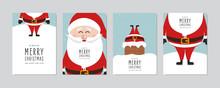 Christmas Card Set. Merry Chri...
