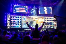 Big Esports Event. Video Games...