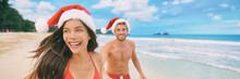 Christmas Beach Vacation Coupl...