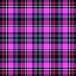 canvas print picture - Tartan plaid and scotland design fabric, christmas.