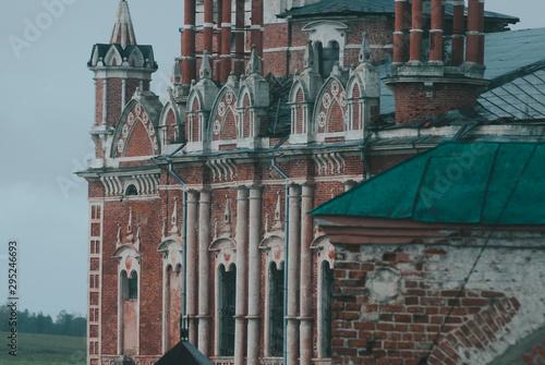 Fototapety, obrazy: Gothic Novo-Nikolsky Cathedral in the Mozhaisk Kremlin. The Cathedral of St. Nicholas