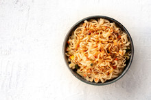 Instant Noodles With Carrot, S...