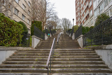 Stairs Up In Etterbeek Distric...