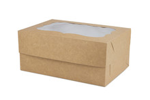Cardboard Box For Biscuits And Muffins.
