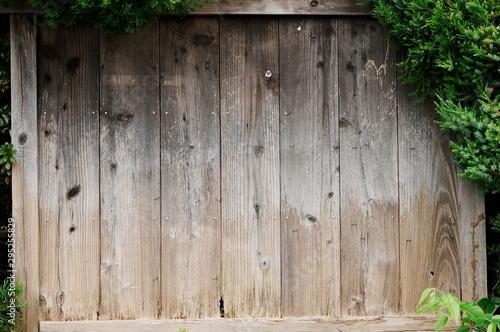 Fotografie, Obraz  古い木製の掲示板