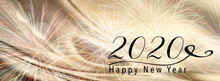 New Year Holiday 2020 Backgrou...