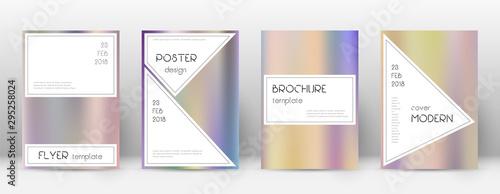 Fotografie, Obraz  Flyer layout. Stylish stunning template for Brochu