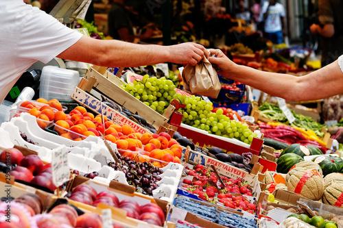 Fotografie, Obraz wochen markt