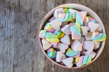 Multi-colored Marshmallow Twis...
