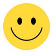 Smiley Face. Happy smiley emoji vector yellow. Vector happy circle face.