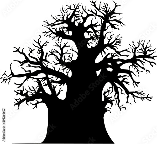 Baobab tree Wallpaper Mural