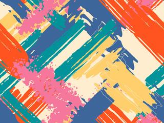 Colorful contemporary seaml...